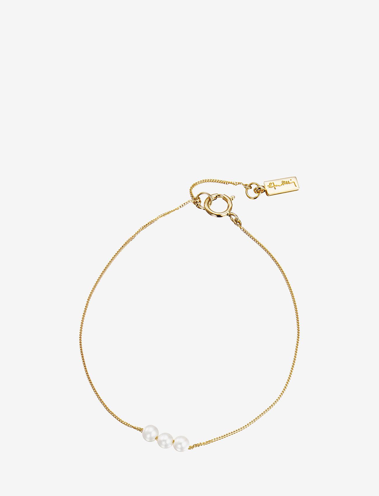 Efva Attling - My Little Pearl Bracelet - dainty - gold - 0