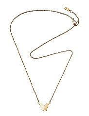 Little Miss Butterfly Necklace - GOLD