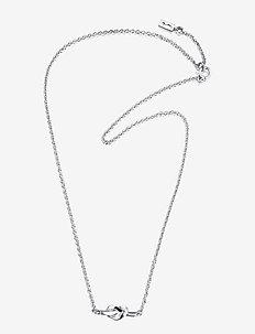 Love Knot Necklace - små halsband - silver