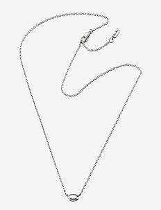 Love Bead Necklace - Silver - SILVER