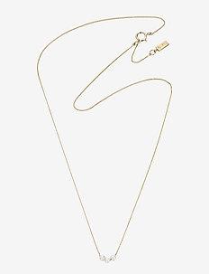 My Little Pearl Necklace - halskæder - gold