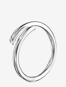 Hug Ring - ringe - silver