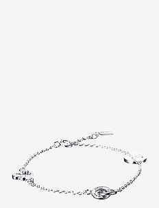 Mini love bracelet - dainty - silver