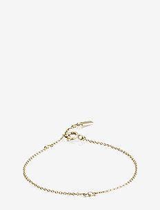 My First Diamond Bracelet - dainty - gold