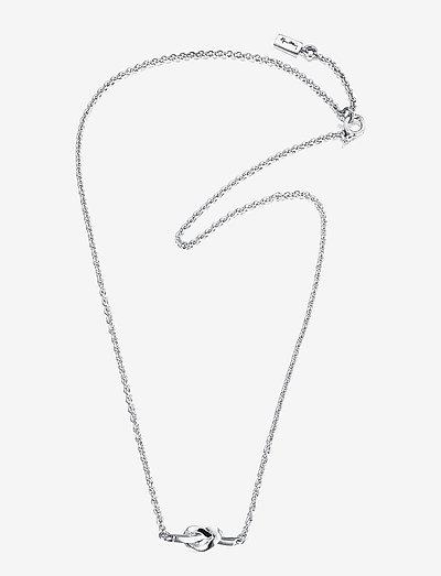 Love Knot Necklace - kettingen met hanger - silver