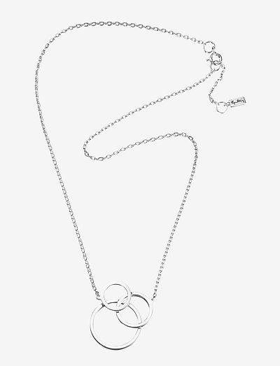Bubbles Necklace - kettingen met hanger - silver