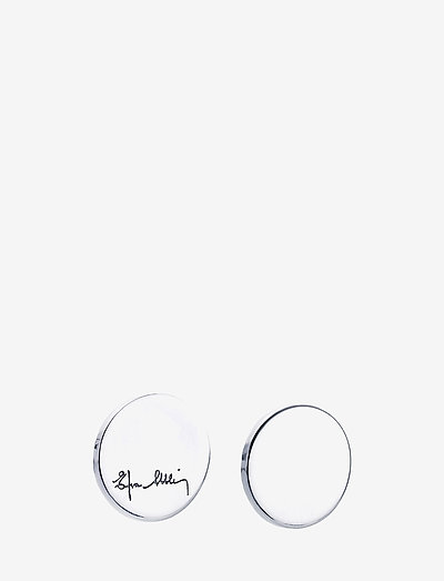 Dots Ear - stud earrings - silver