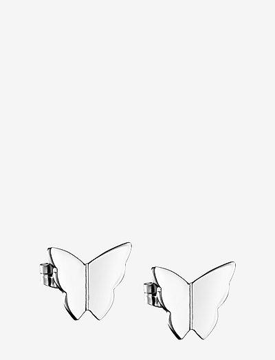 Little Miss Butterfly Ear - stud oorbellen - silver