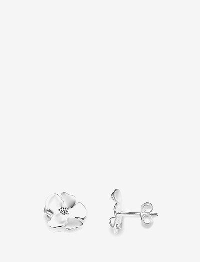 Violet Ear - stud oorbellen - silver