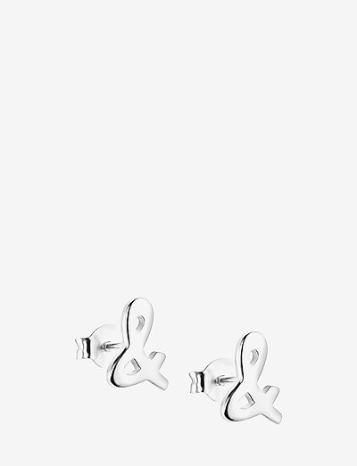 & Ear - stud earrings - silver