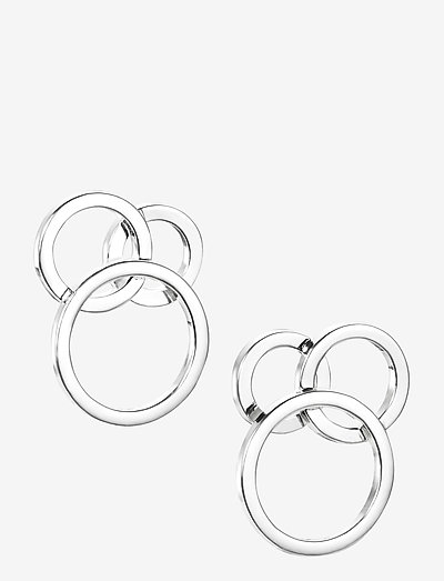 Bubbles Ear - stud earrings - silver