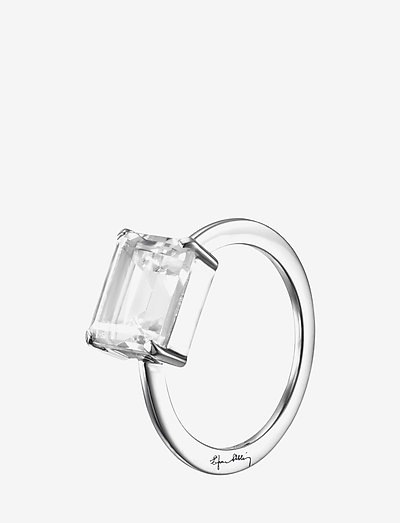 A Clear Dream Ring - ringen - silver