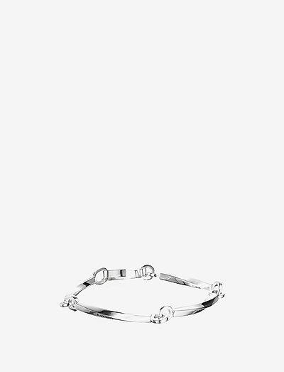 Strength & Kindness Bracelet - dainty - silver