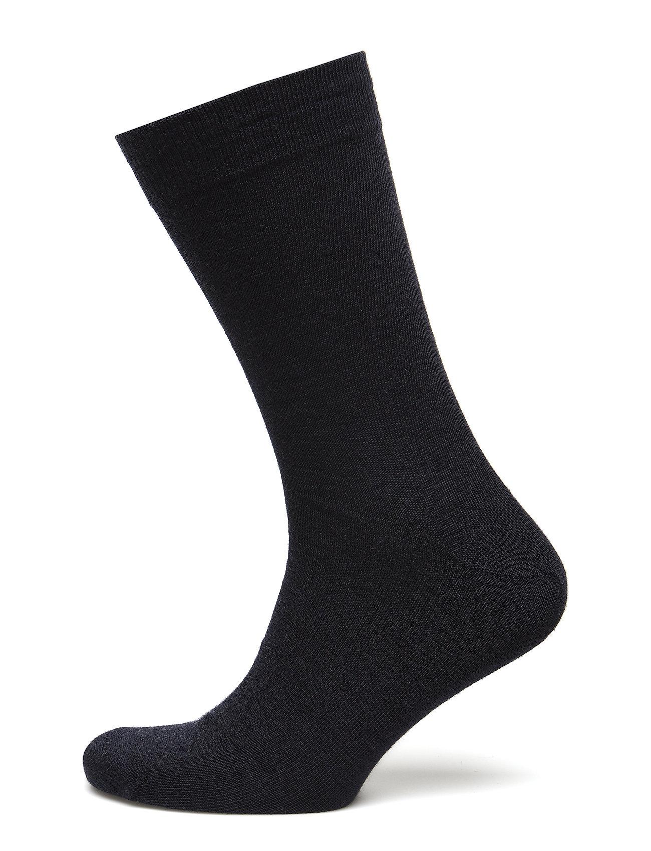 Image of Egtved Socks Cotton/Wool Twin, Underwear Socks Regular Socks Sort Egtved (3101135393)