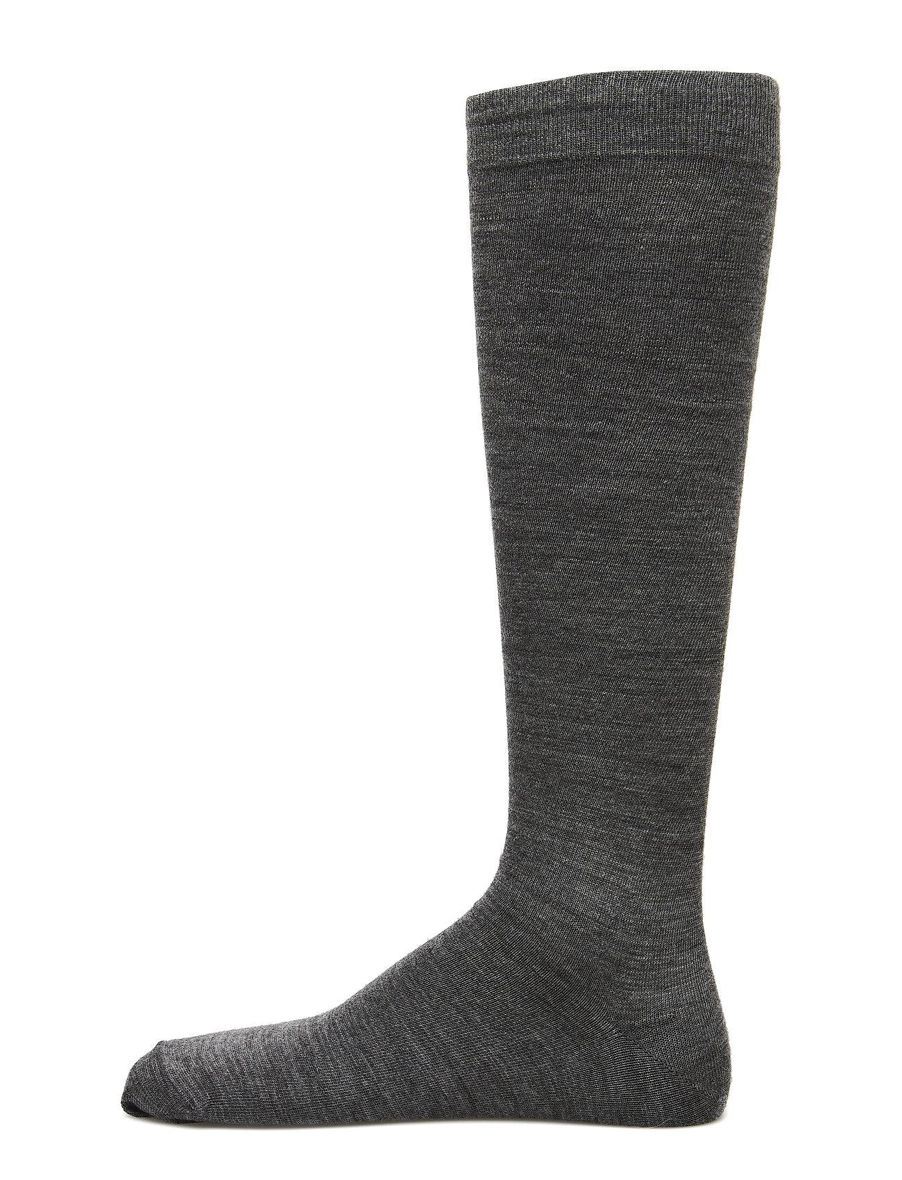 Egtved Egtved socks twin kneehigh - GREY MEL.