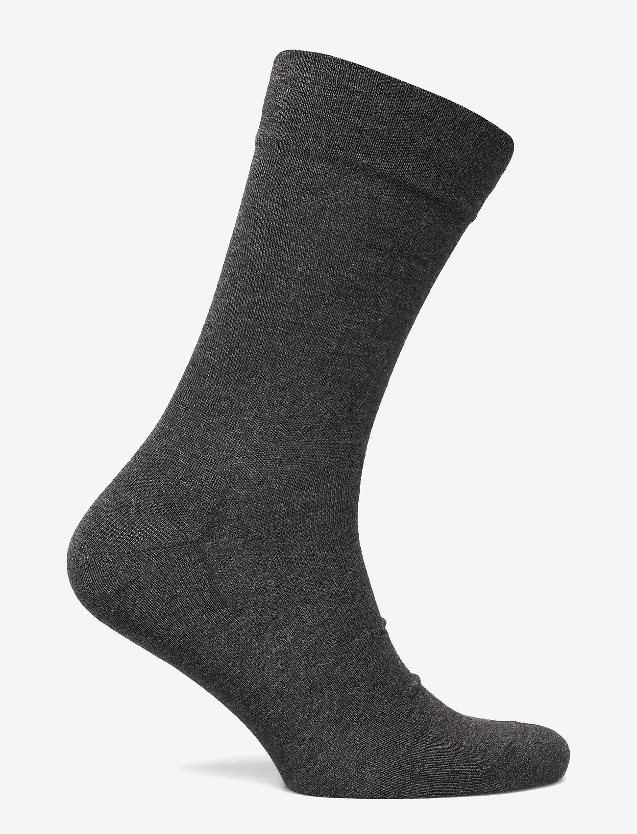 Egtved - Egtved socks bamboo no elastic - regular socks - grey