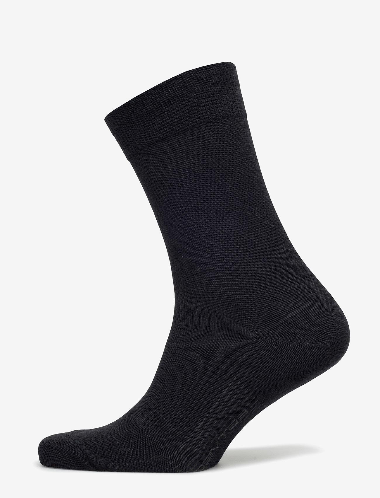 Egtved - Egtved business socks - reguläre strümpfe - black - 0