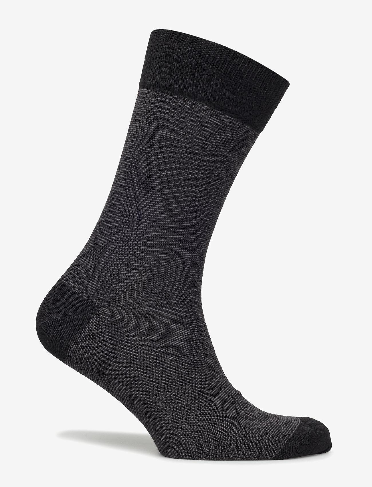 Egtved - Egtved socks, bamboo - sokker - black - 1