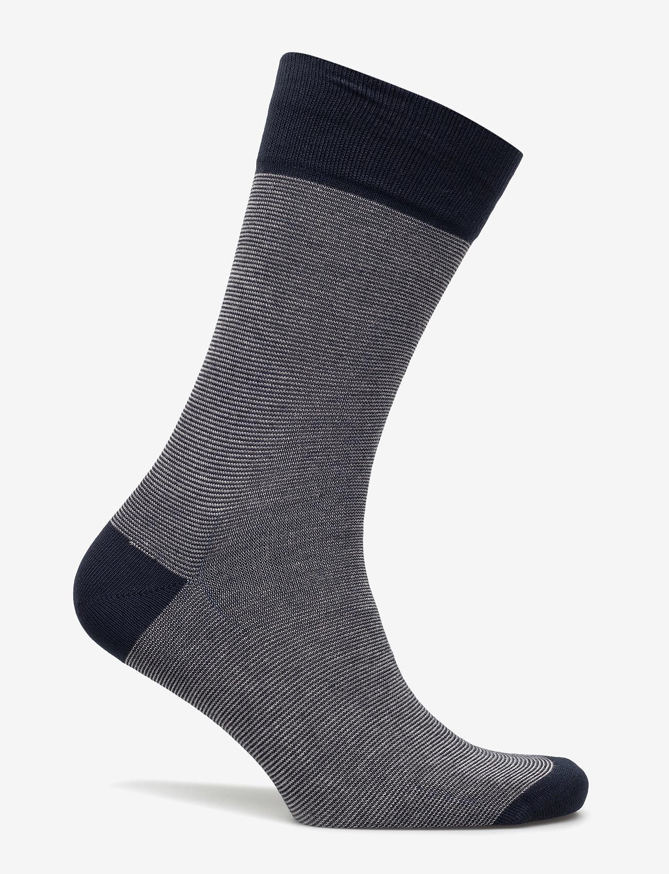 Egtved - Egtved socks, bamboo - crew-socken - navy - 1