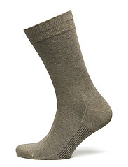 Egtved socks cotton - BEIGE MEL.