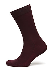Egtved socks cotton - BORDEAUX