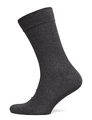 Egtved socks bamboo no elastic - GREY