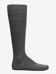 Egtved - Egtved socks twin kneehigh , - regular socks - grey mel. - 1