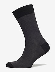Egtved - Egtved socks, bamboo - sokker - black - 0