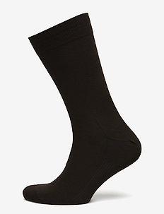 Egtved socks cotton - normalne skarpetki - dark brown