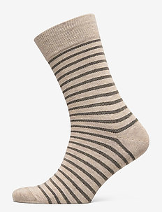 Egtved socks cotton - BEIGE
