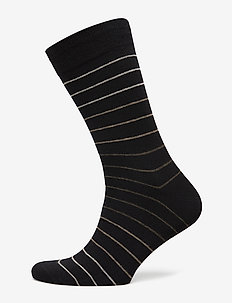 Egtved socks cotton - BLACK
