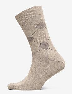 Egtved socks cotton - BEIGE