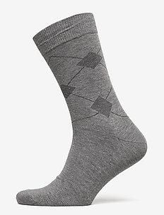 Egtved socks cotton - LJUSGRå ME