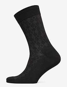 Egtved socks cotton - SVART
