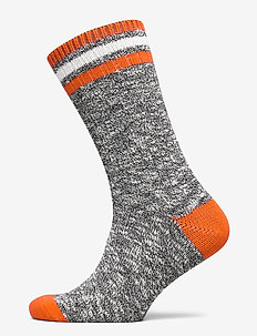Bootsock melange colour stripe - MULTI