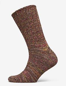 Kraftig Boot Sock bommuld - MULTI