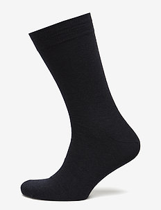 Egtved socks cotton/wool twin - NAVY