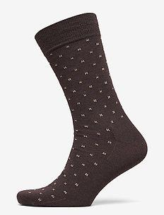 Egtved socks wool - BRUN