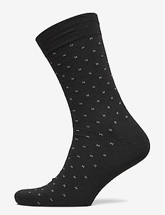 Egtved socks wool - SVART