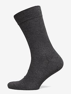 Egtved socks bamboo no elastic - regular socks - grey