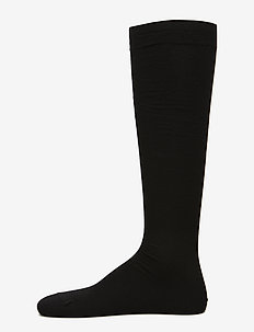 Egtved socks twin kneehigh - BLACK