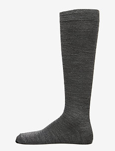 Egtved socks twin kneehigh - GREY MEL.