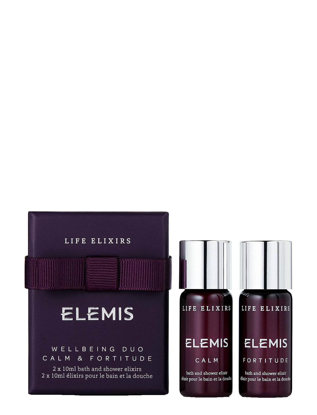 Elemis Wellbeing Collection Calm  & Fortitude - CLEAR