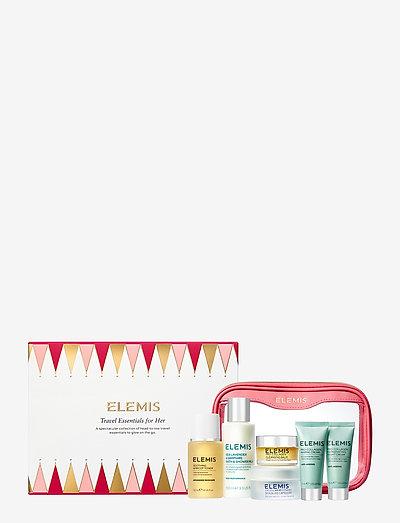 Kit: Travel Essentials for Her - hudpleiesett - no colour