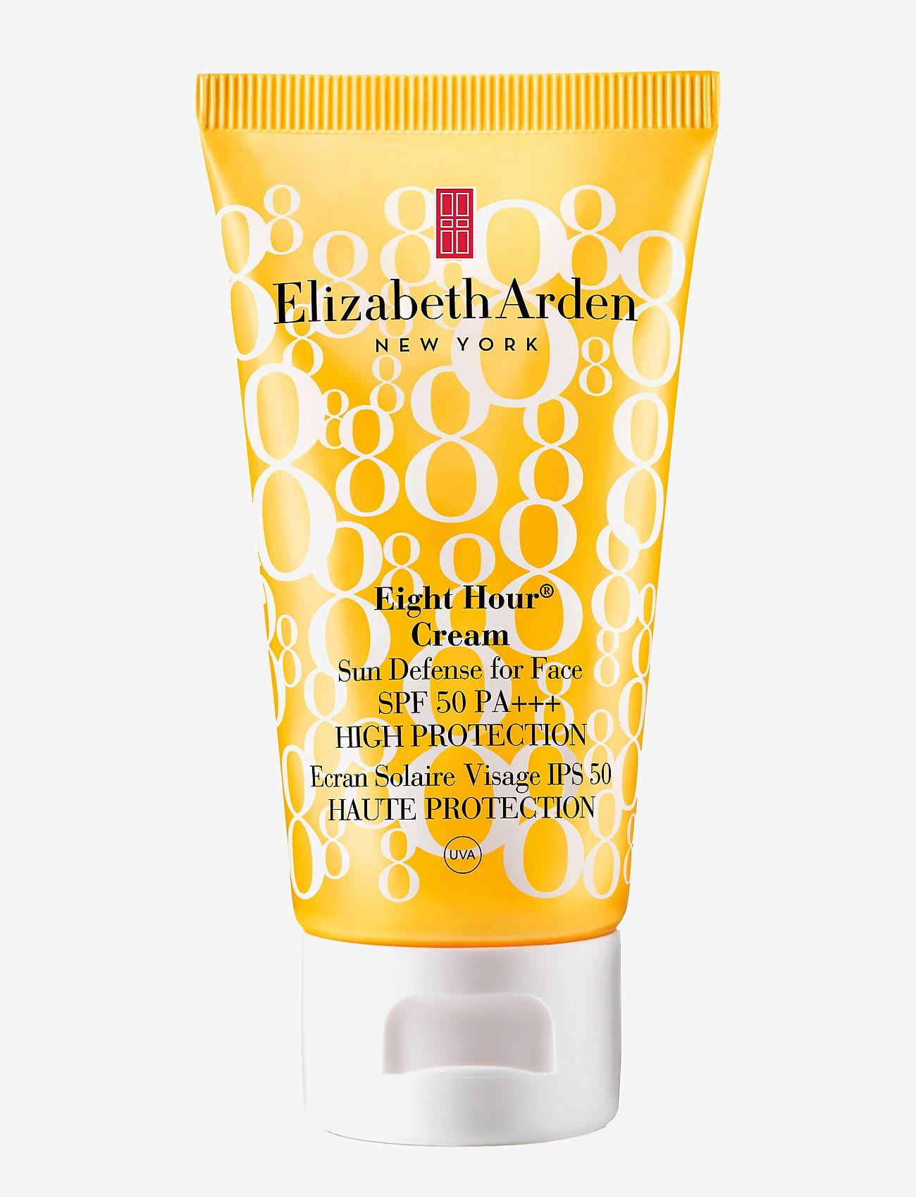 Elizabeth Arden - EIGHT HOUR SUN SUNDEFENSE FOR FACE SPF 50 - ansigt - clear - 0