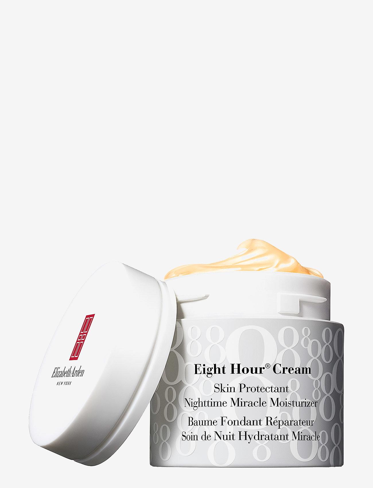Elizabeth Arden - EIGHT HOUR CREAM NIGHTTIME MIRACLE MOISTURIZER - nattkräm - clear - 0