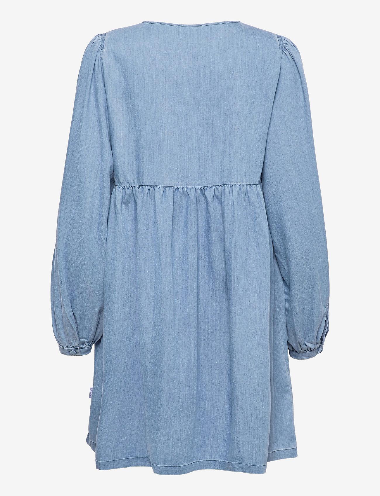 ella&il - Sammy denim dress - robes de jour - blue denim - 1