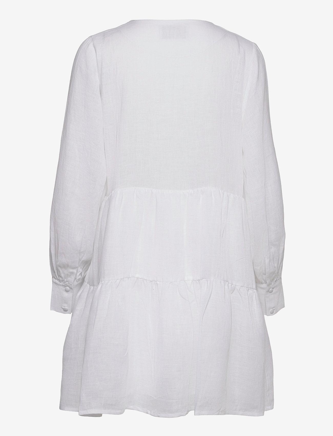 ella&il - Aria linen dress - robes de jour - white - 1