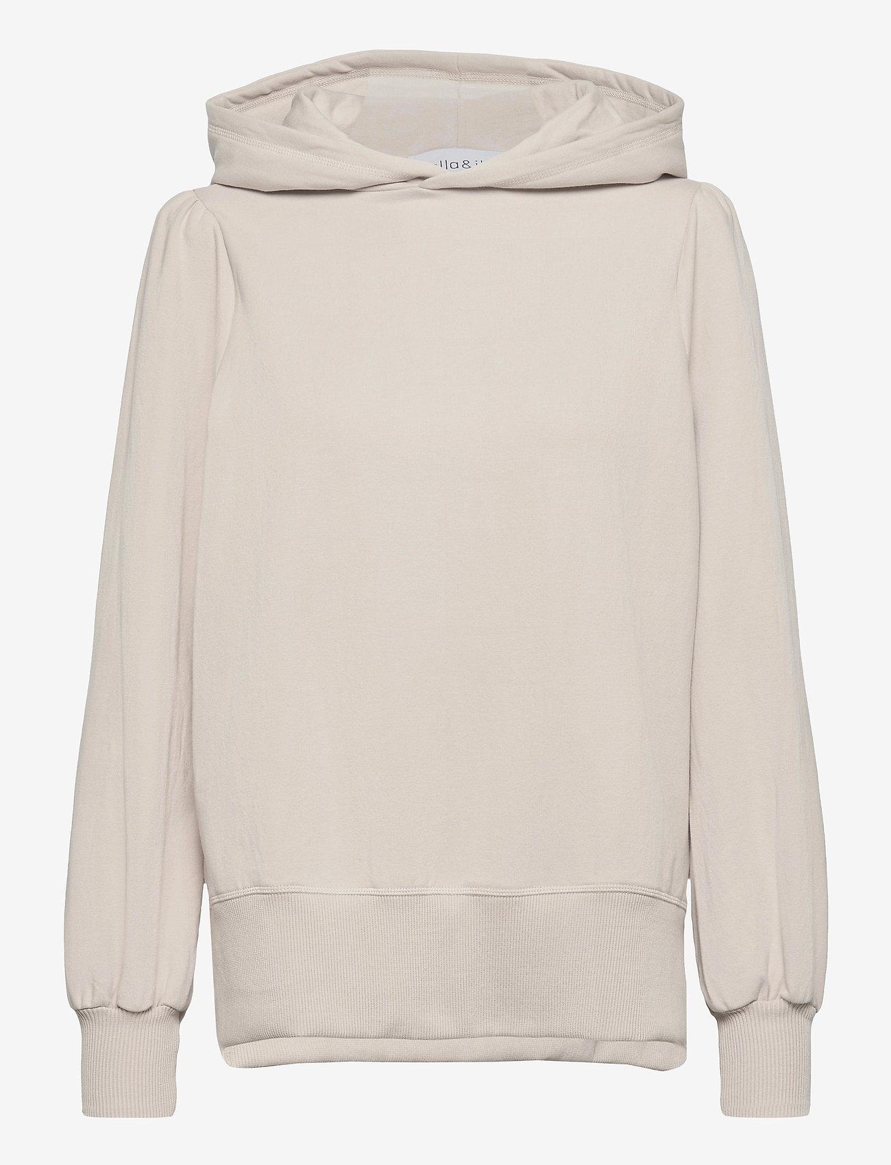 ella&il - Tina hoodie - pulls à capuche - beige - 0