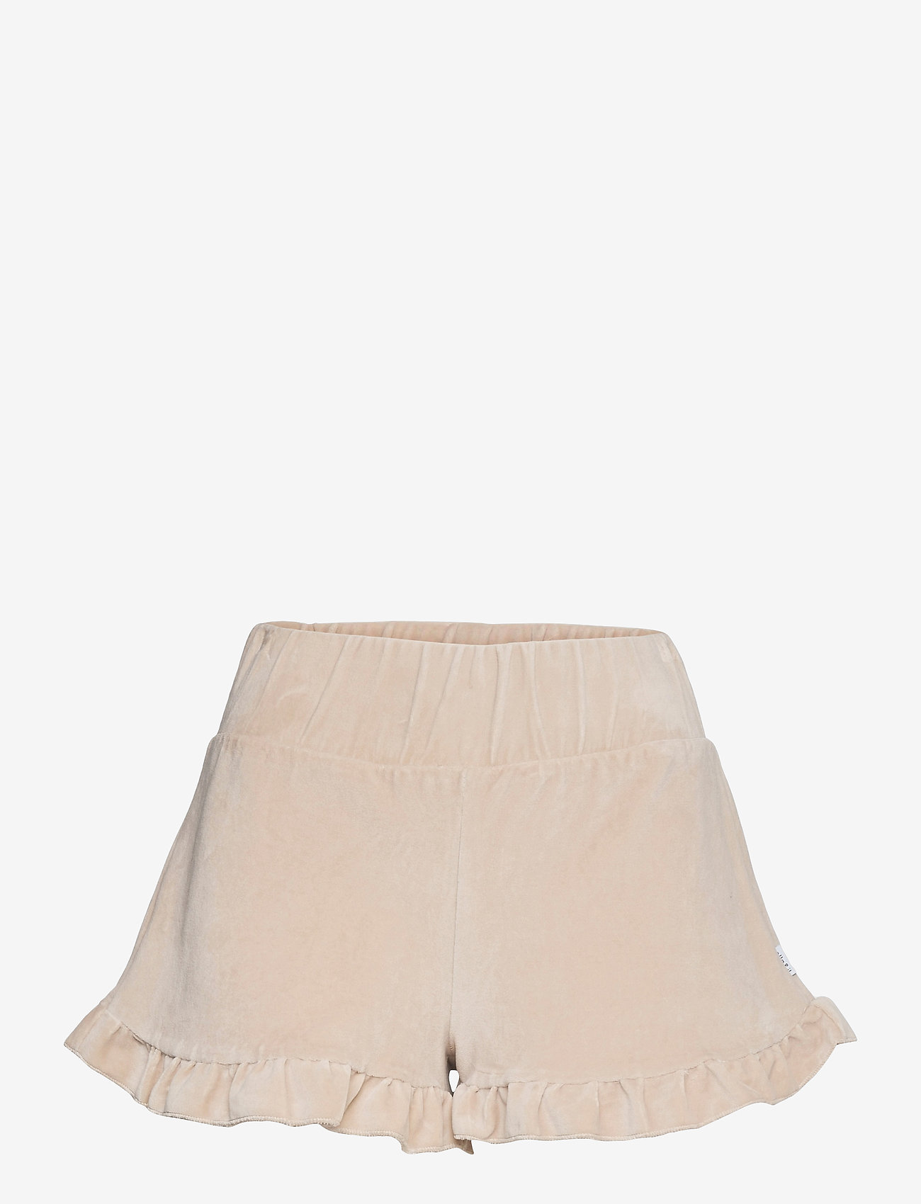 ella&il - Hay velour shorts - shorts casual - beige - 0